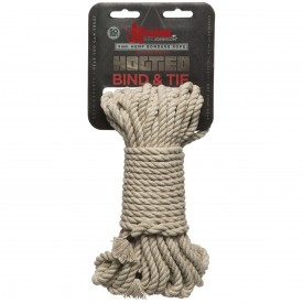 Бондажная пеньковая верёвка Kink Bind & Tie Hemp Bondage Rope 50 Ft - 15 м.
