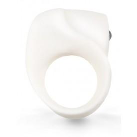 Белое кольцо на член с вибрацией