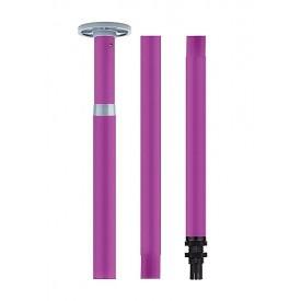 Фиолетовый регулируемый шест для танцев