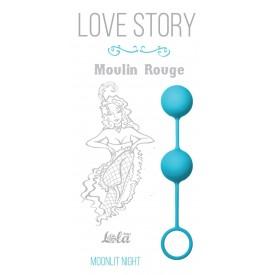 Голубые вагинальные шарики Love Story Moulin Rouge
