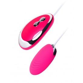 Розовое виброяйцо A-Toys - 6,5 см.